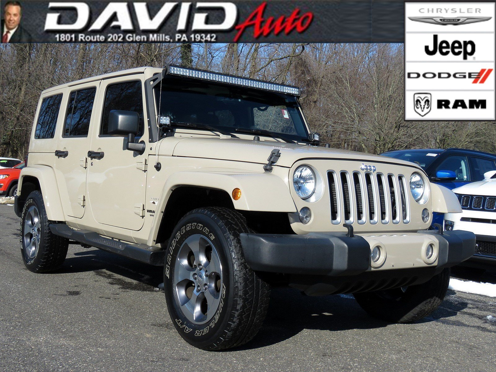Certified Pre Owned 2016 Jeep Wrangler Unlimited Sahara