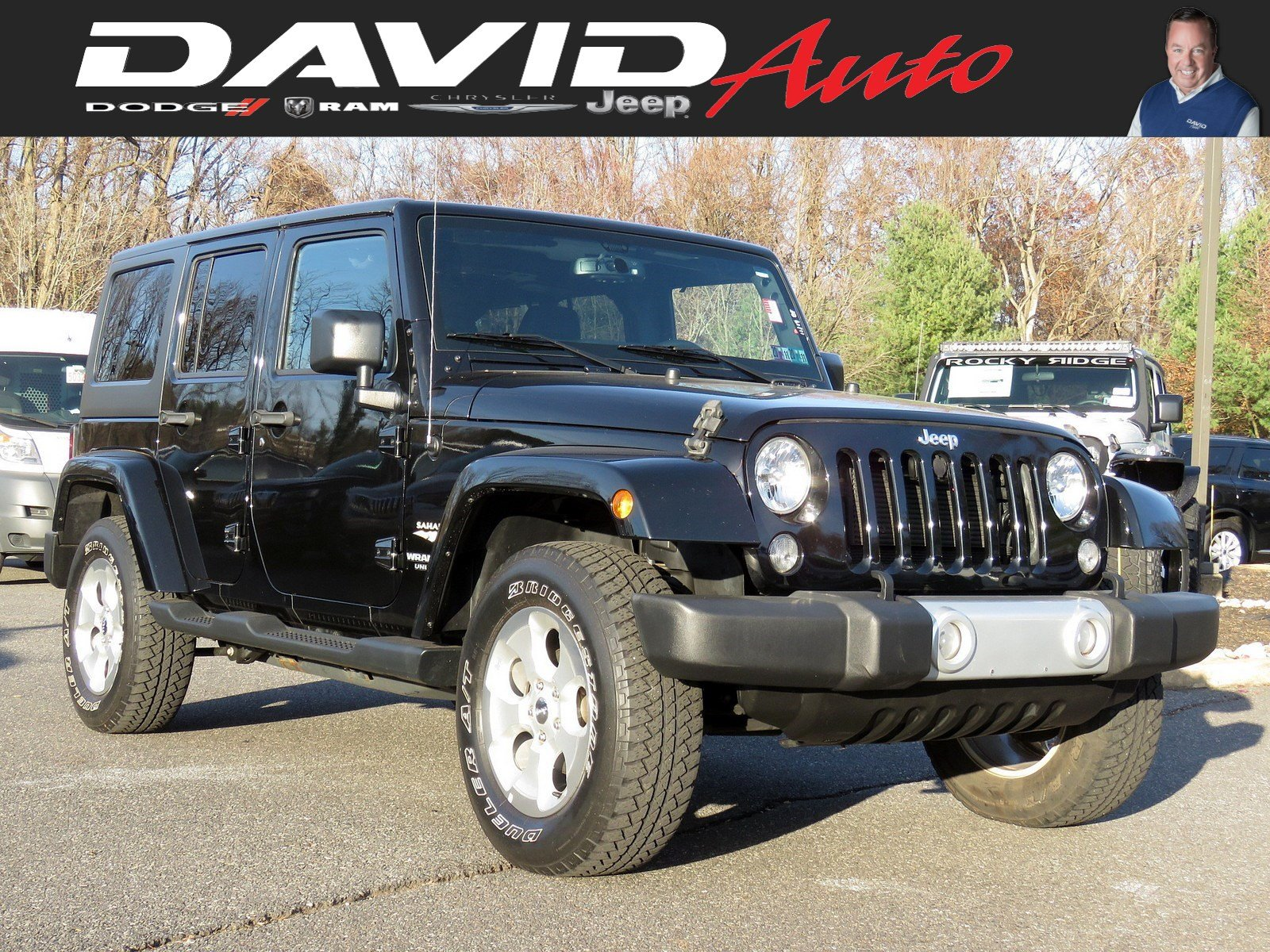 Certified Pre-Owned 2015 Jeep Wrangler Unlimited Sahara