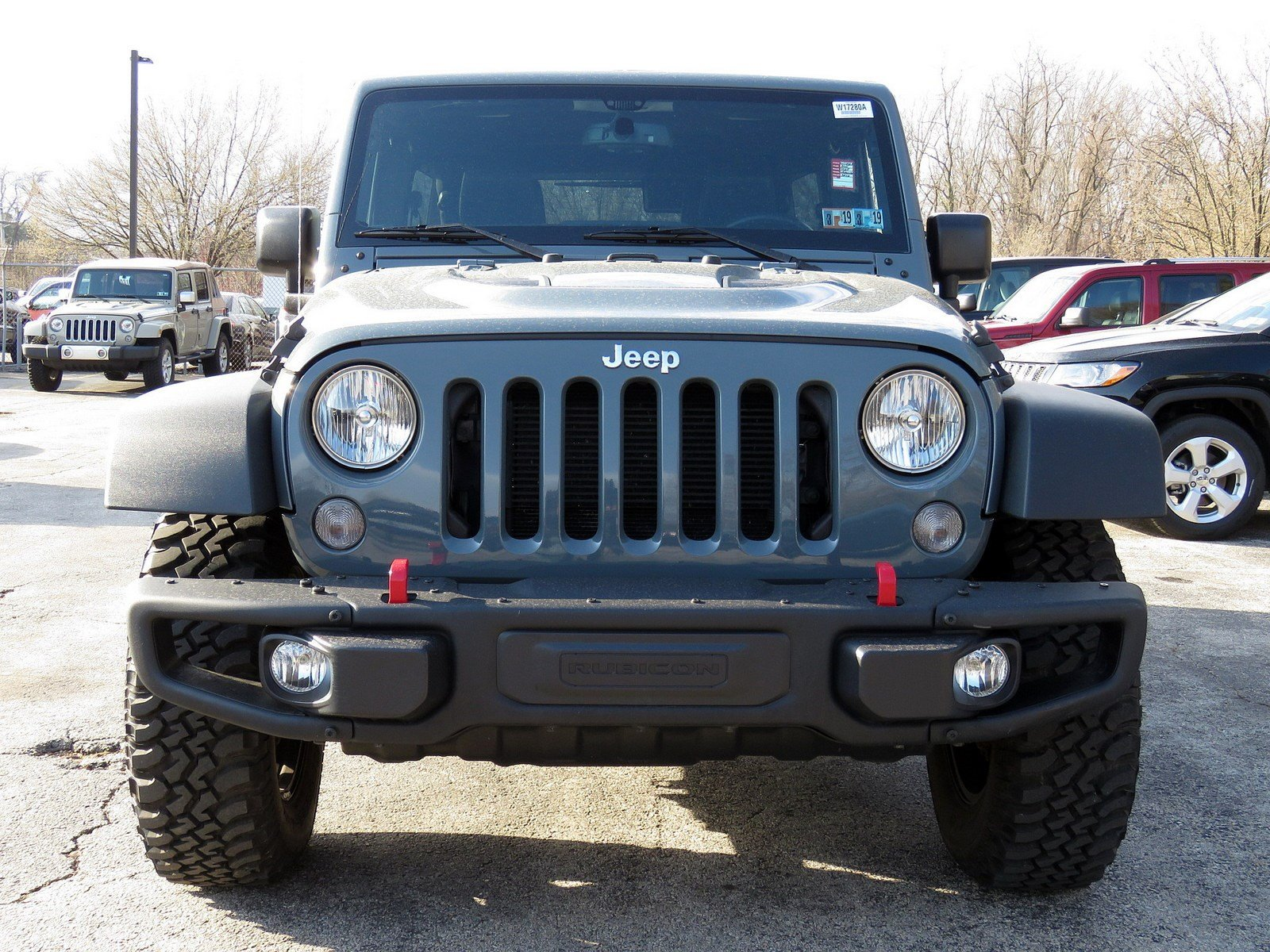 Certified Pre Owned 2015 Jeep Wrangler Unlimited Rubicon Hard Rock