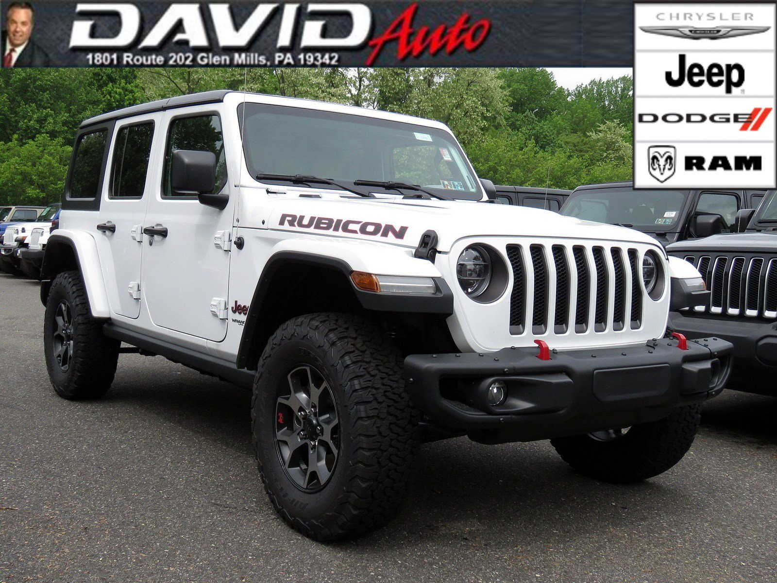 New 2018 JEEP Wrangler Rubicon Sport Utility in Glen Mills ...