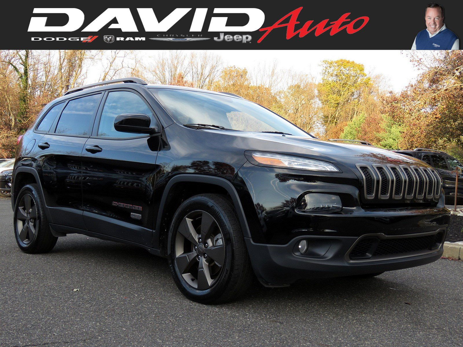 Certified Pre-Owned 2017 Jeep Cherokee 75th Anniversary Edition