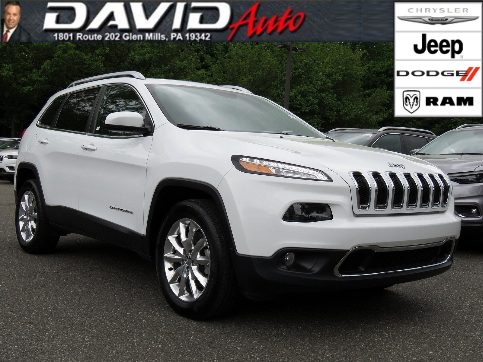 Certified Pre Owned 2016 Jeep Cherokee Limited Sport Utility in Glen