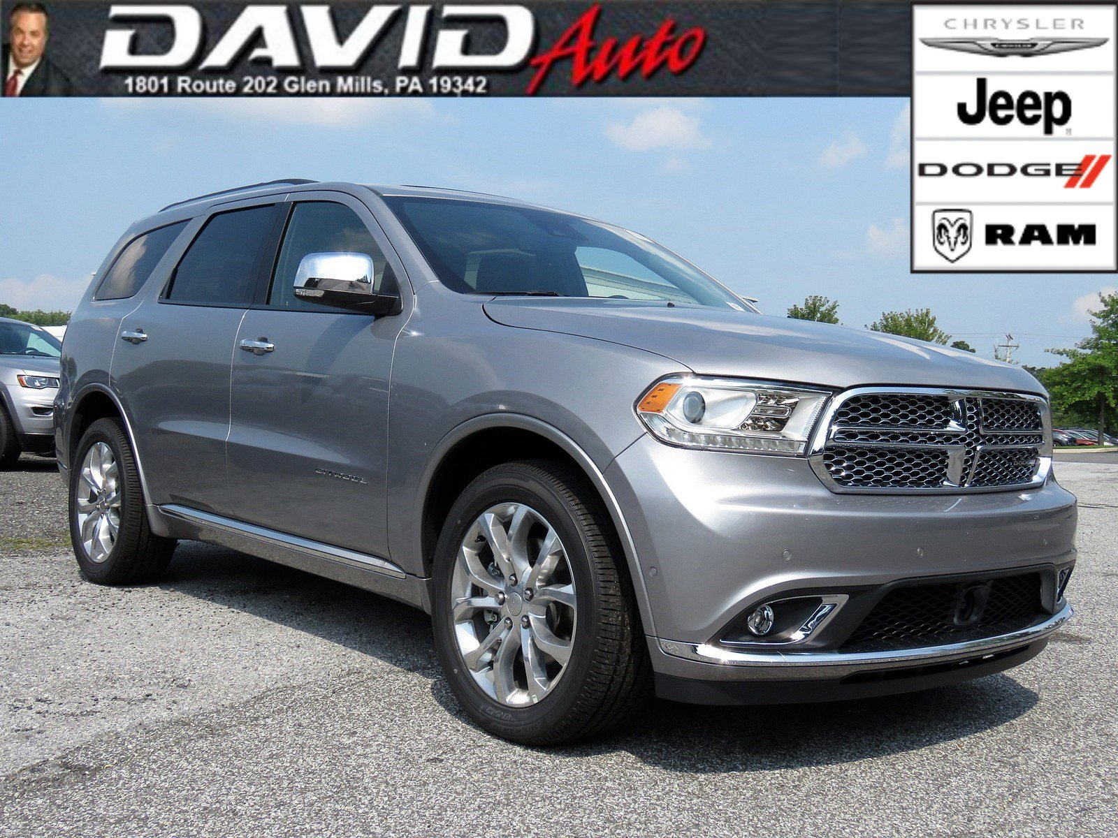 New 2018 DODGE Durango Citadel Sport Utility in Glen Mills D