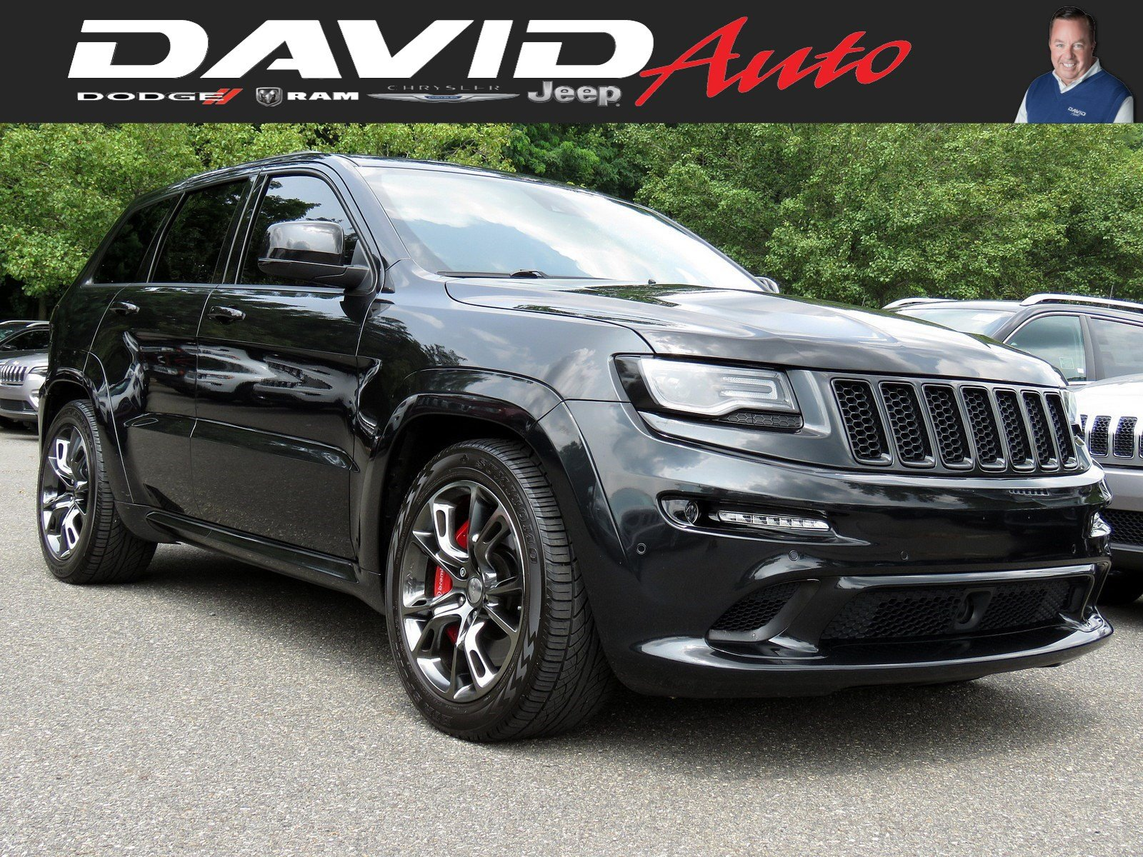 Certified Pre-Owned 2015 Jeep Grand Cherokee SRT