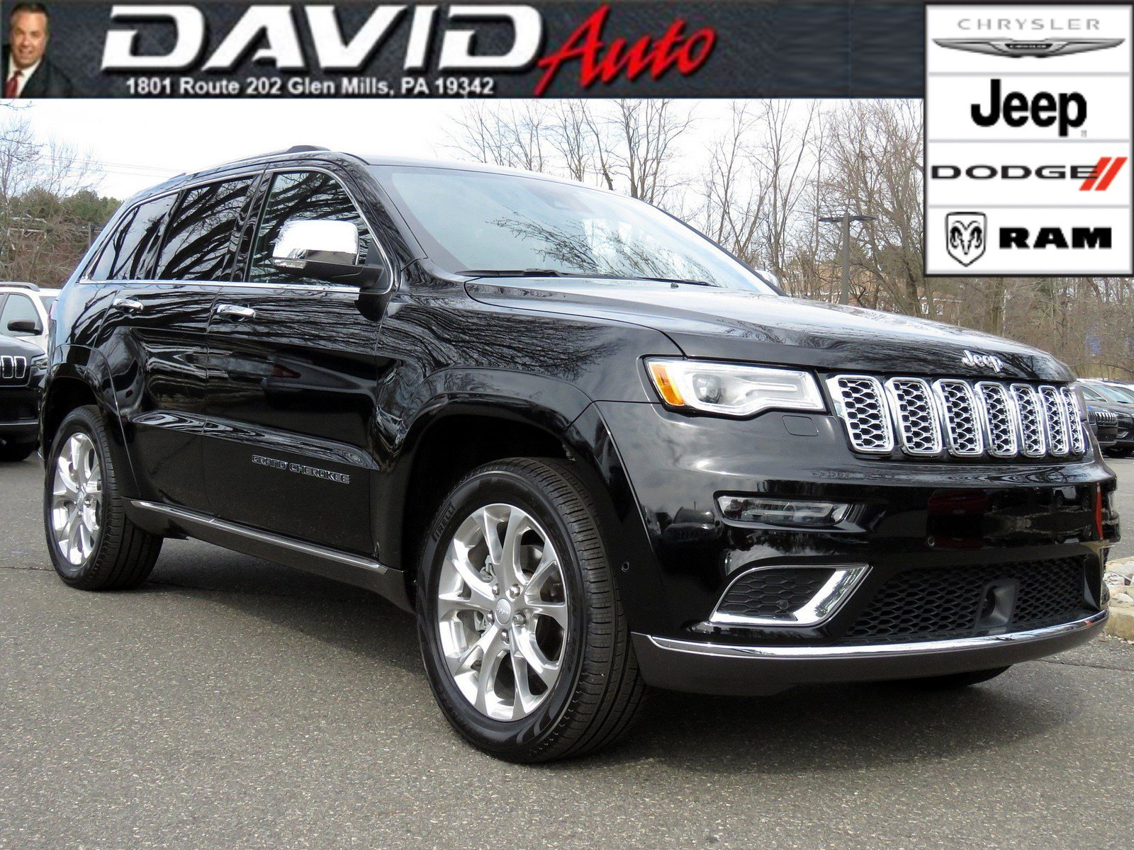 Pre-Owned 2019 Jeep Grand Cherokee Summit