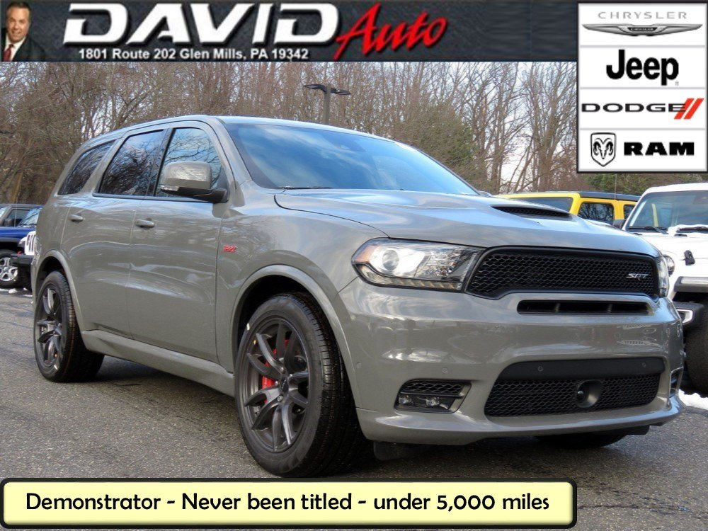 2019 Dodge Durango: Updated Styling, New Features, Price >> New 2019 Dodge Durango Srt Awd