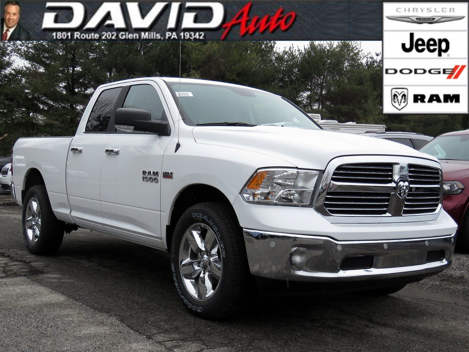Ram Big Horn >> New 2018 Ram 1500 Big Horn Quad Cab In Glen Mills R18089 David