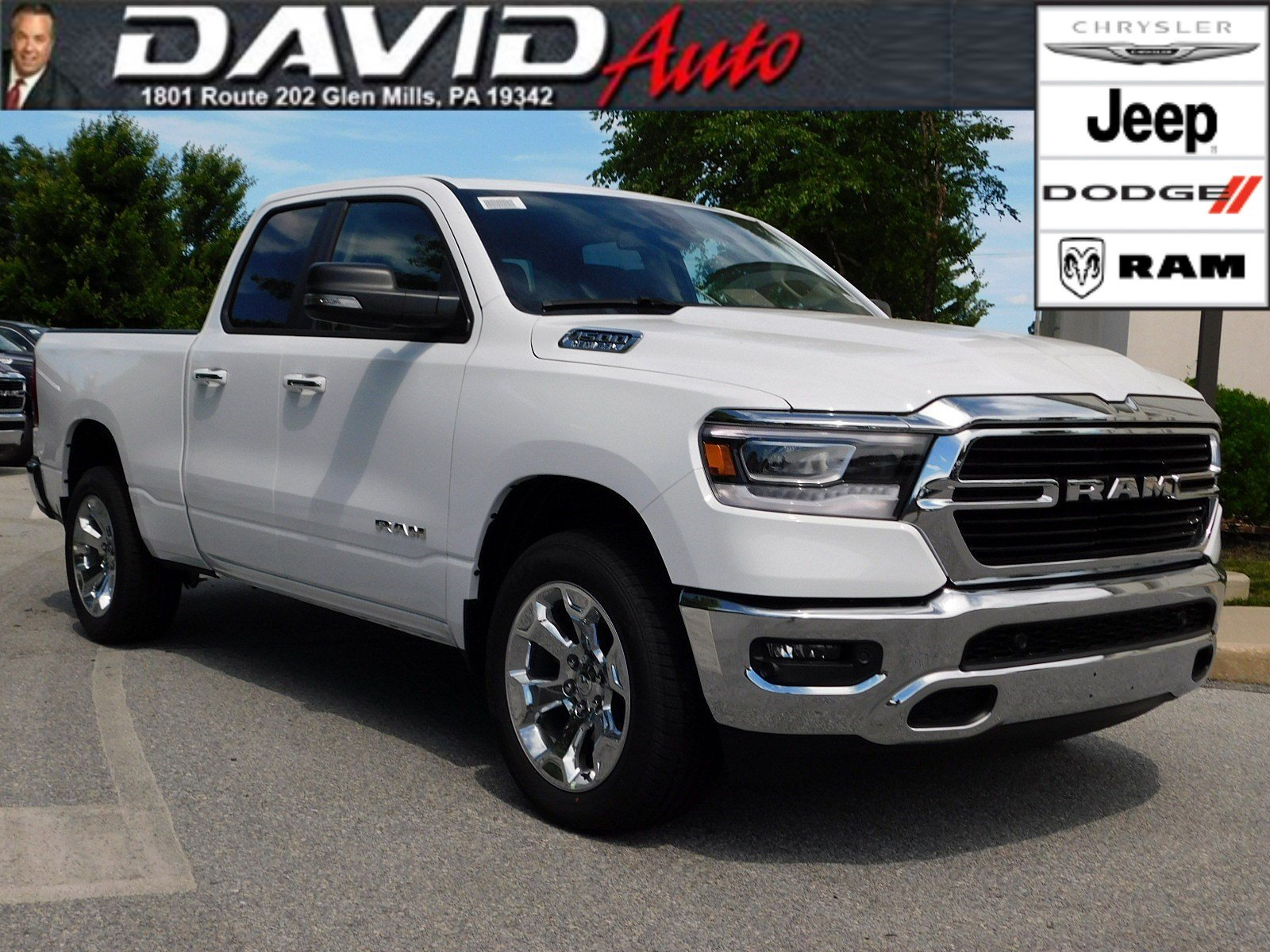 New 2019 Ram All 1500 Big Horn Lone Star Quad Cab In Glen Mills 2012 Dodge Airbag Light