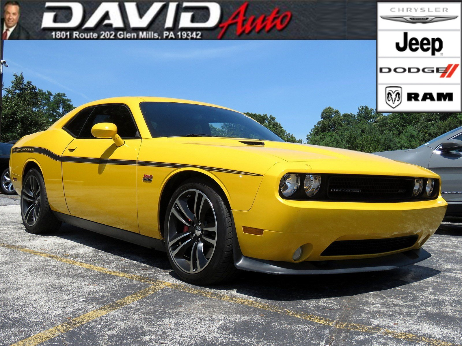 Pre Owned 2012 Dodge Challenger Yellow Jacket 2dr Car In Glen Mills