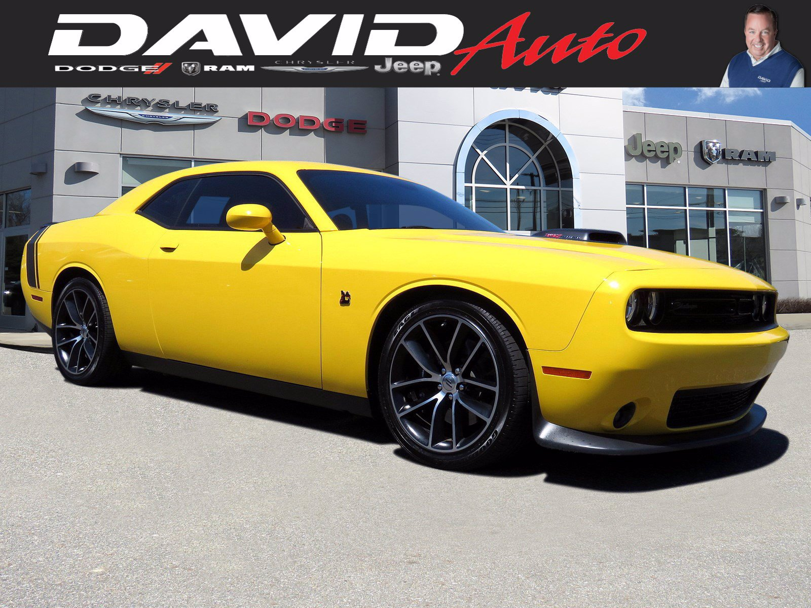 Certified Pre-Owned 2017 Dodge Challenger 392 Hemi Scat Pack Shaker