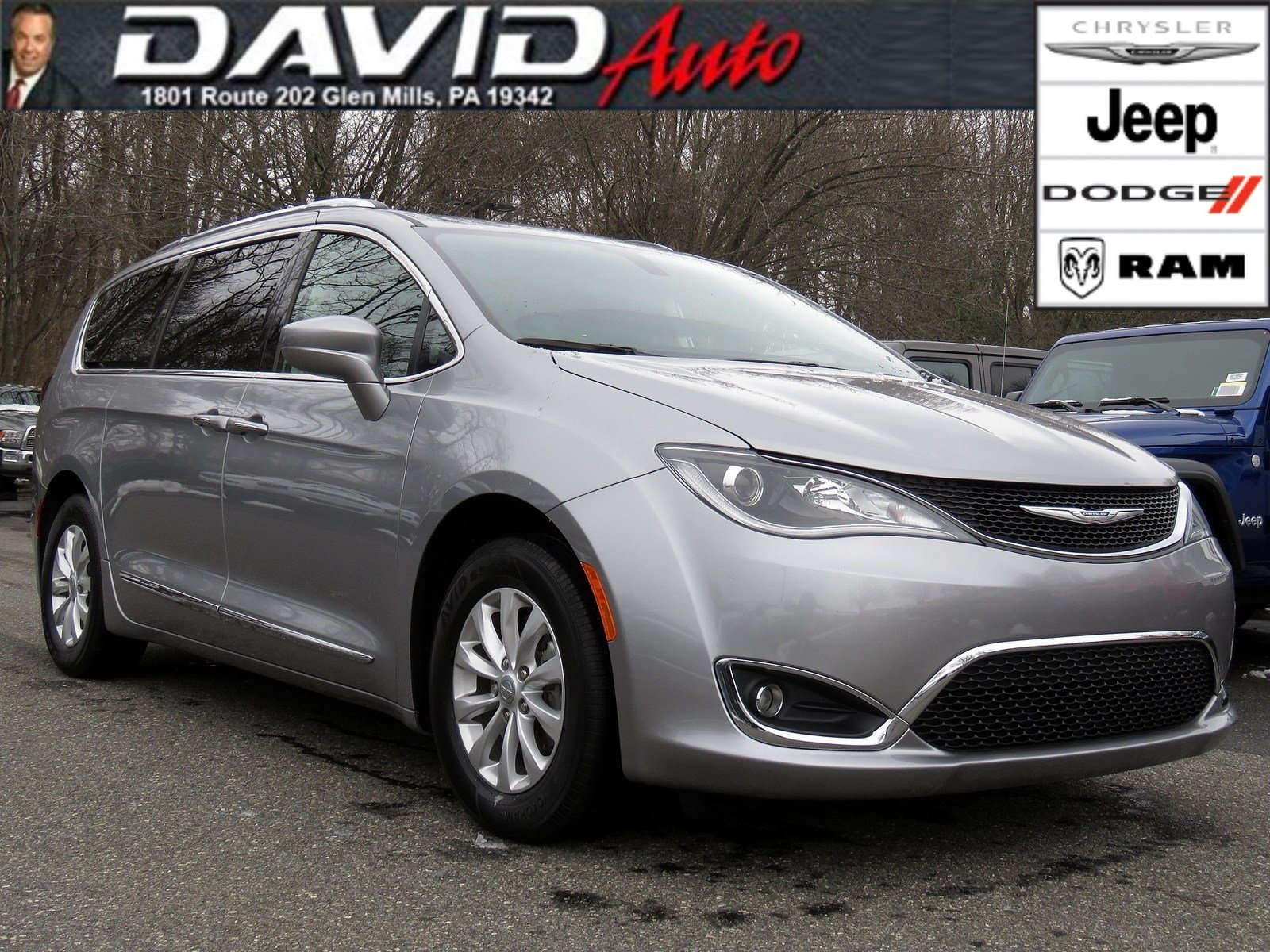 Certified Pre Owned 2018 Chrysler Pacifica Touring L
