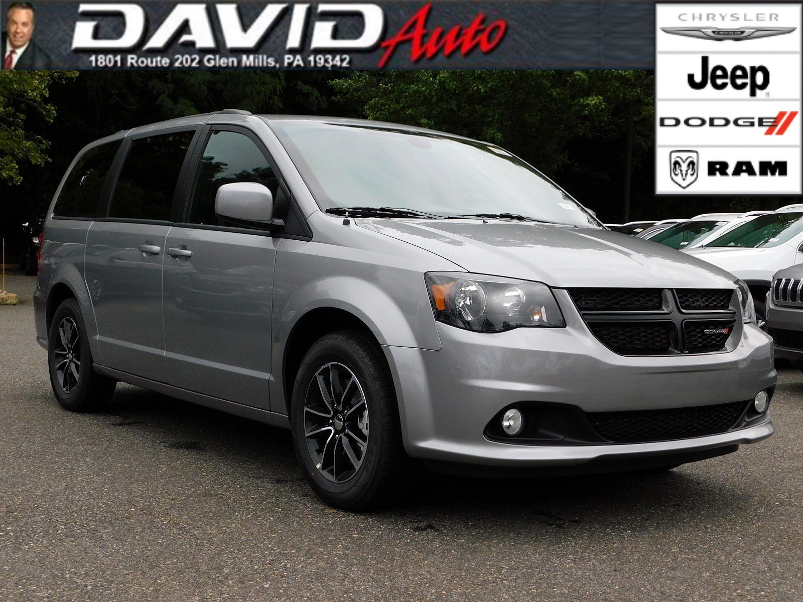 New 2019 Dodge Grand Caravan Se Plus Passenger Van In Glen Mills