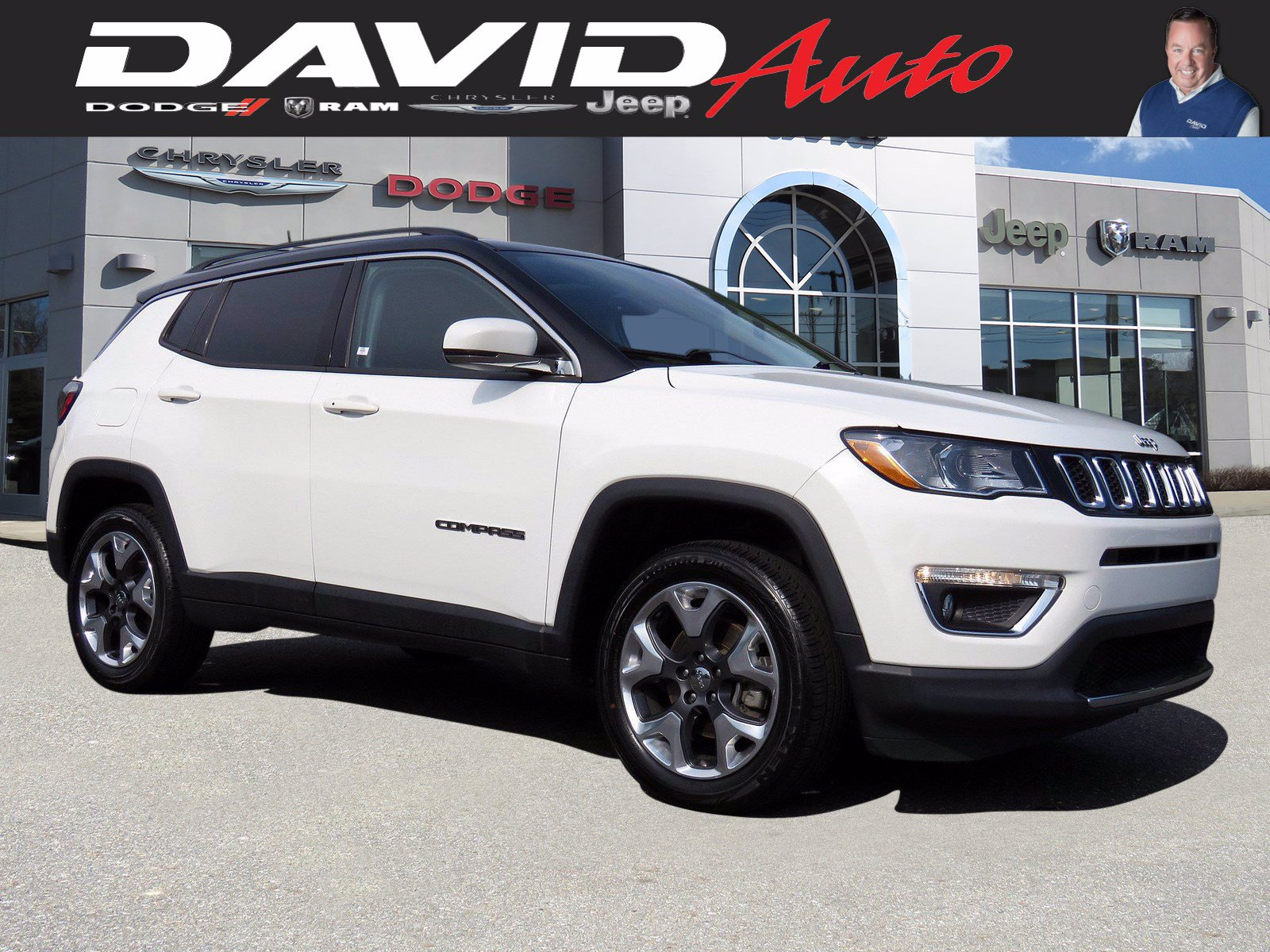 Certified Pre-Owned 2017 Jeep Compass Limited
