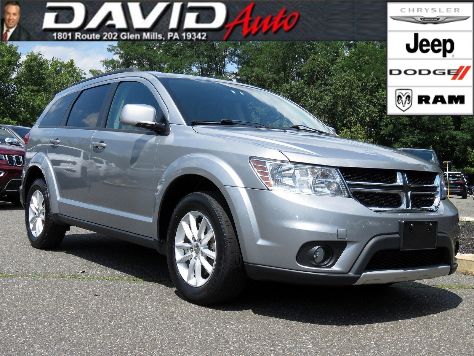 2016 Dodge Journey >> Pre Owned 2016 Dodge Journey Sxt Awd
