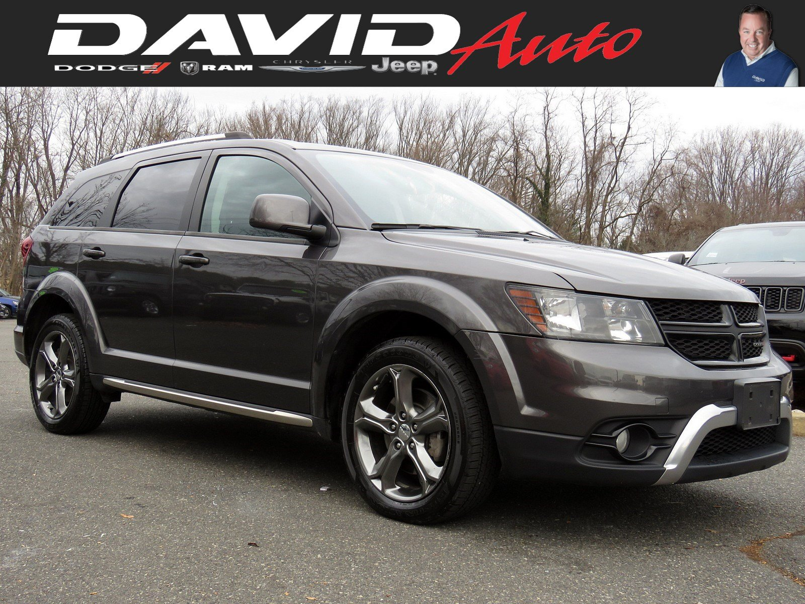 Certified Pre-Owned 2016 Dodge Journey Crossroad Plus