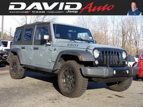 Certified Pre-Owned 2015 Jeep Wrangler Unlimited Willys Wheeler
