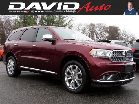 Certified Pre-Owned 2017 Dodge Durango Citadel