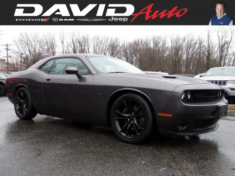 Certified Pre-Owned 2016 Dodge Challenger R/T Plus