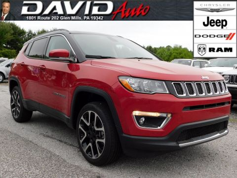 New 2018 JEEP Compass Limited